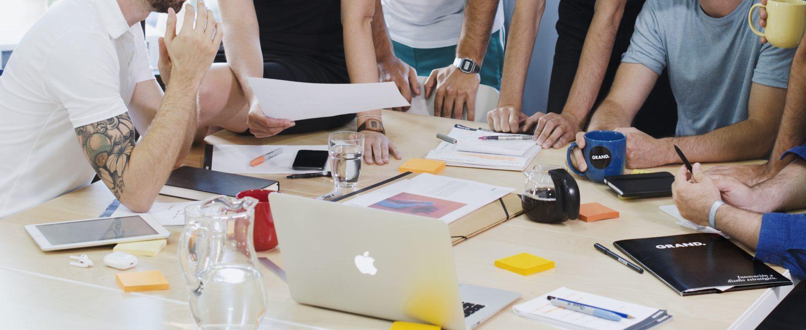 Somos un estudio de innovación y diseño estratégico