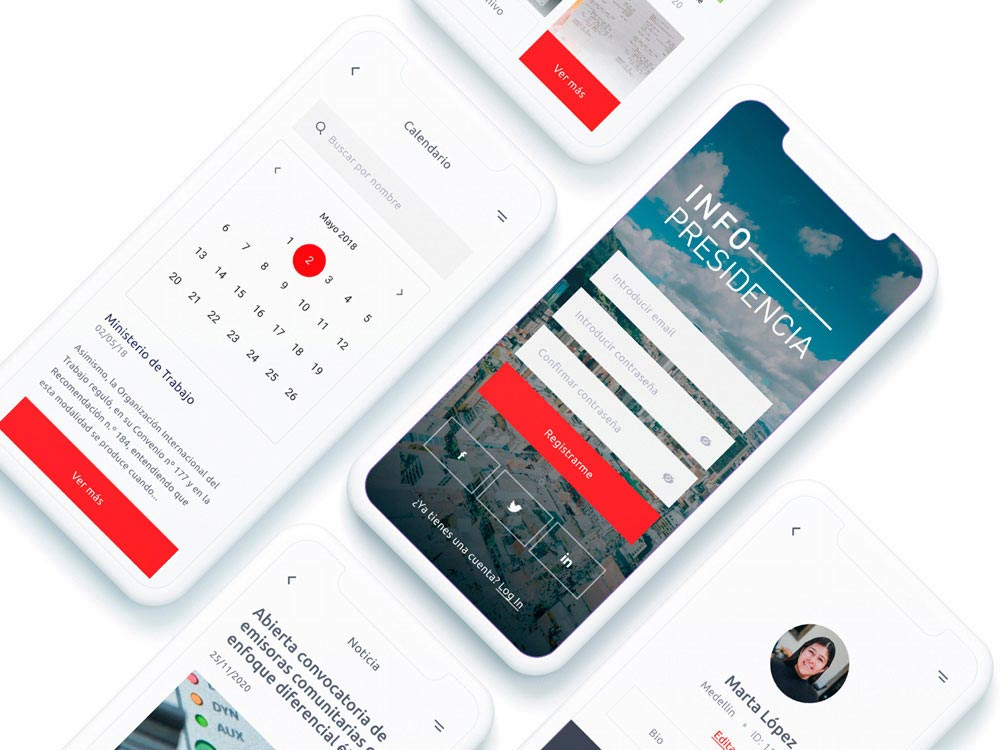 UX/UI app Gobierno Colombia