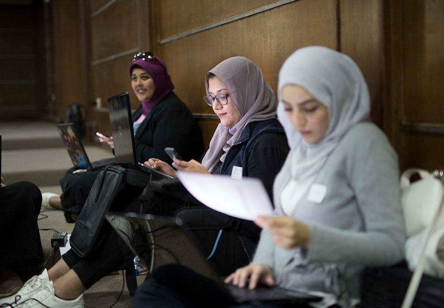 UN Women cocreating in central Asia