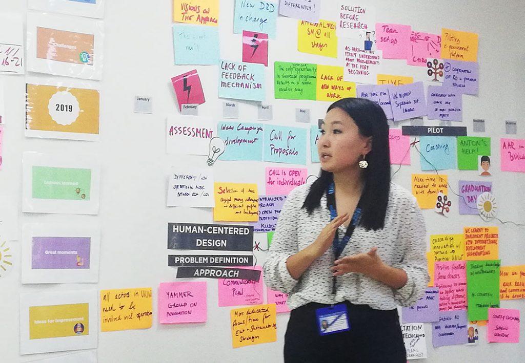 UN Women design thinking